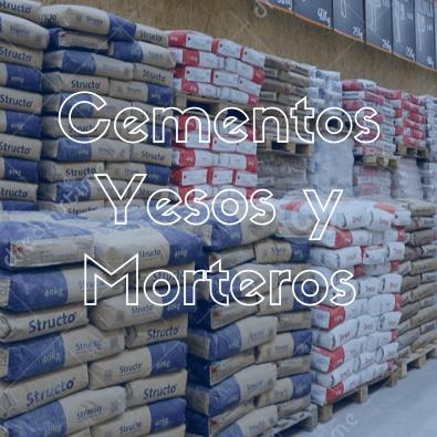 Cementos Yesos y Morteros